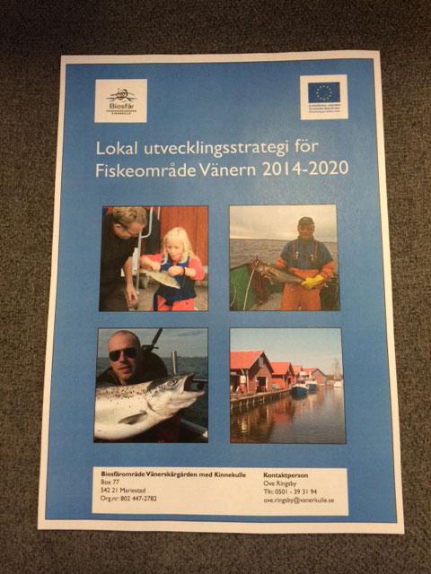 Strategi Fiskeområde Vänern 2014-2020