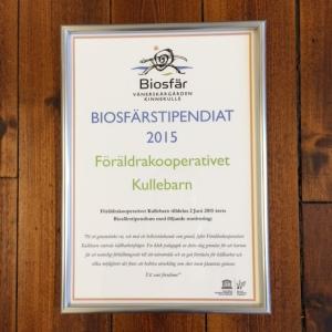 Biosfärstipendiat 2015